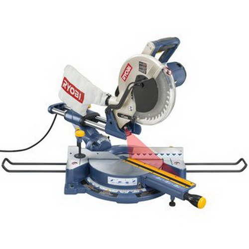 how to change the blade on a ryobi miter saw